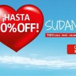 Promo LAN para volar a Sudamérica