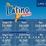 Promo para volar a Chile, Paraguay y México